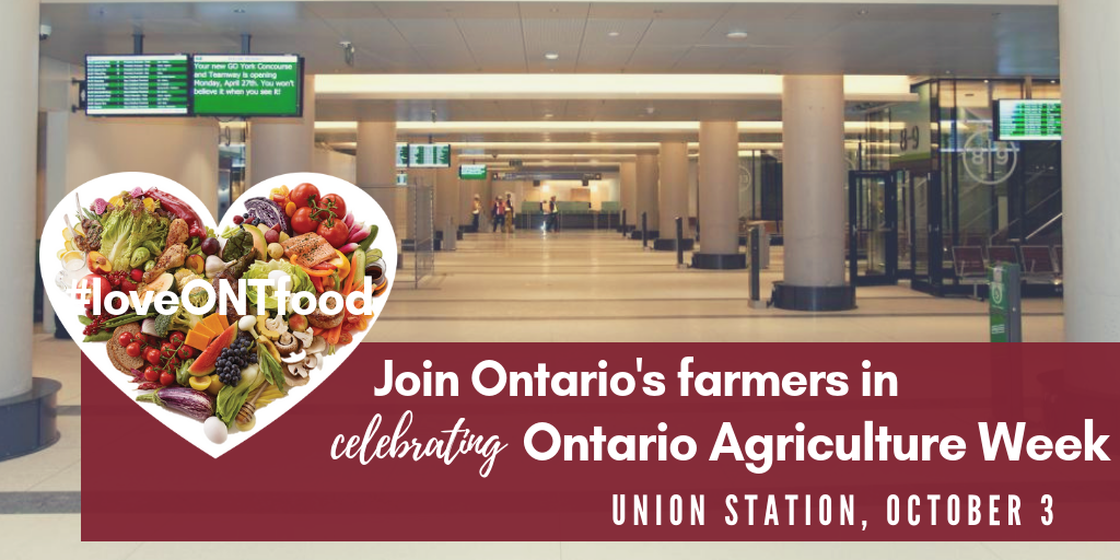 Join Ontario farmers in celebrating Ontario Agriculture Week